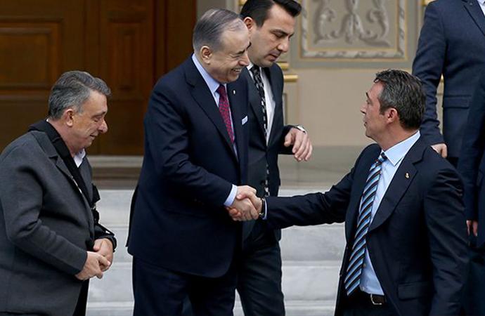 Tarihi zirveye damga vuran Ali Koç ile Mustafa Cengiz diyaloğu: Taş hep senden geliyor
