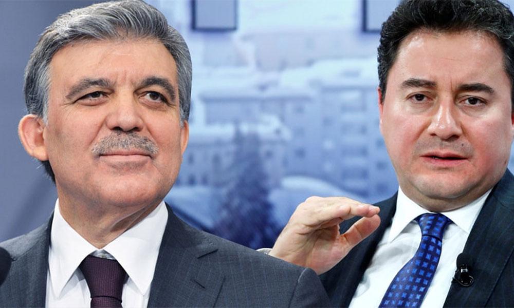 AKP'liler oy verecek mi? Abdullah Gül ve Ali Babacan için çarpıcı anket