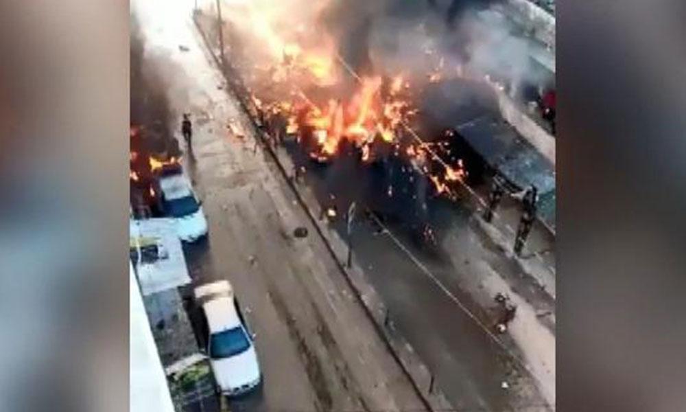 Afrin'de bombalı araçla saldırı: Sekiz ölü, yedi yaralı