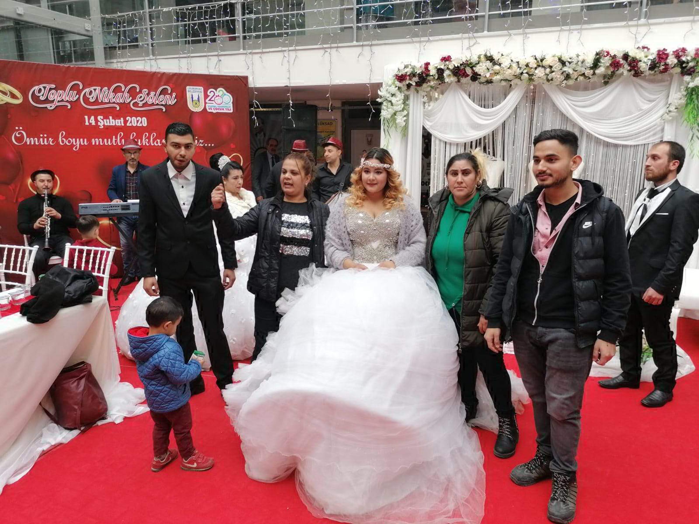 Lüleburgaz'da Sevgililer Günü'nde toplu nikah töreni