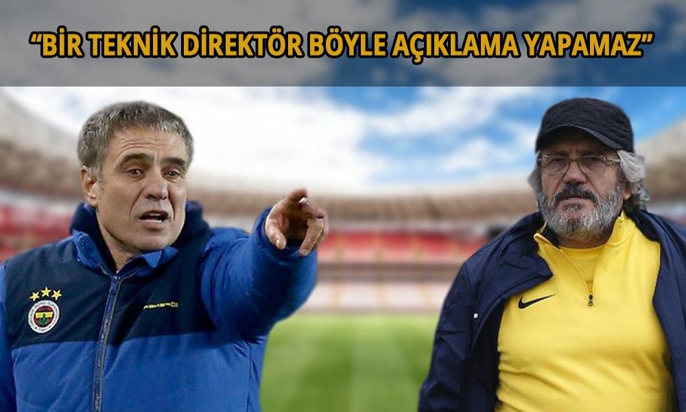 Yanal'dan Mustafa Reşit Akçay'a tepki! 'Futbol hayatımda böyle şey görmedim'