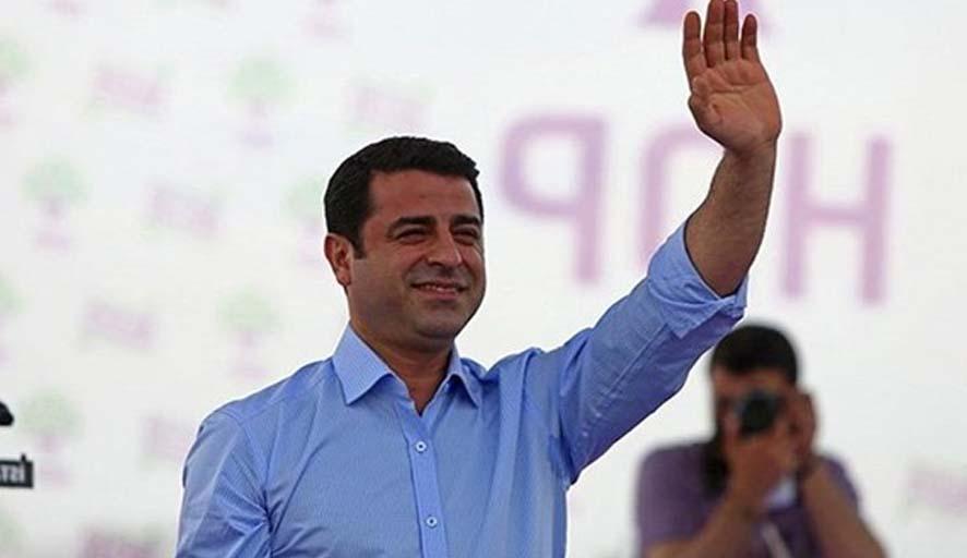 HDP'den Demirtaş açıklaması: Demirtaş'ın partisi HDP'dir