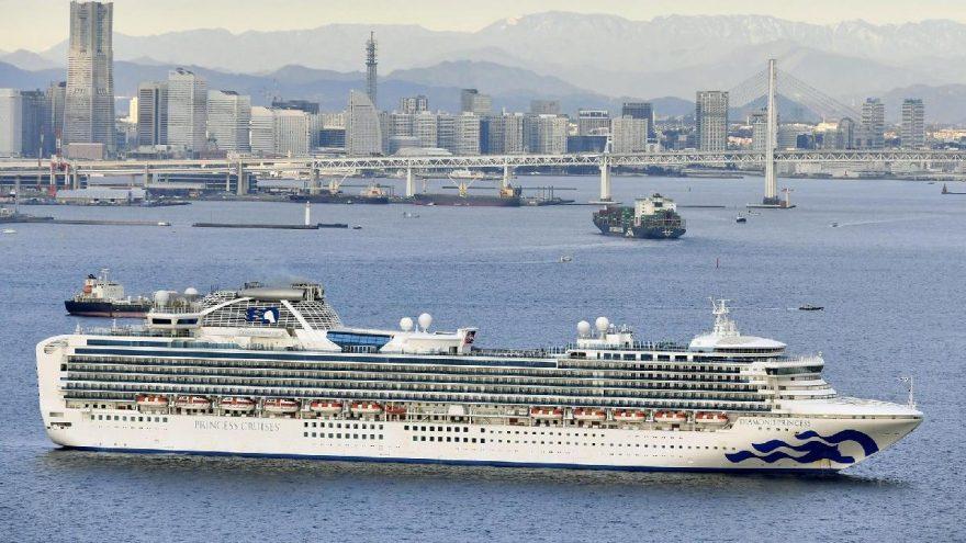 Japonya'da karantinaya alınan yolcu gemisinde koronavirüs alarmı!