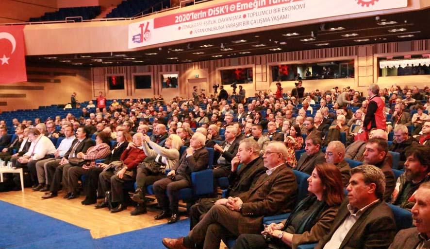 DİSK 53'üncü kuruluş yıl dönümü etkinliği: 45 sendikadan dayanışma mesajı