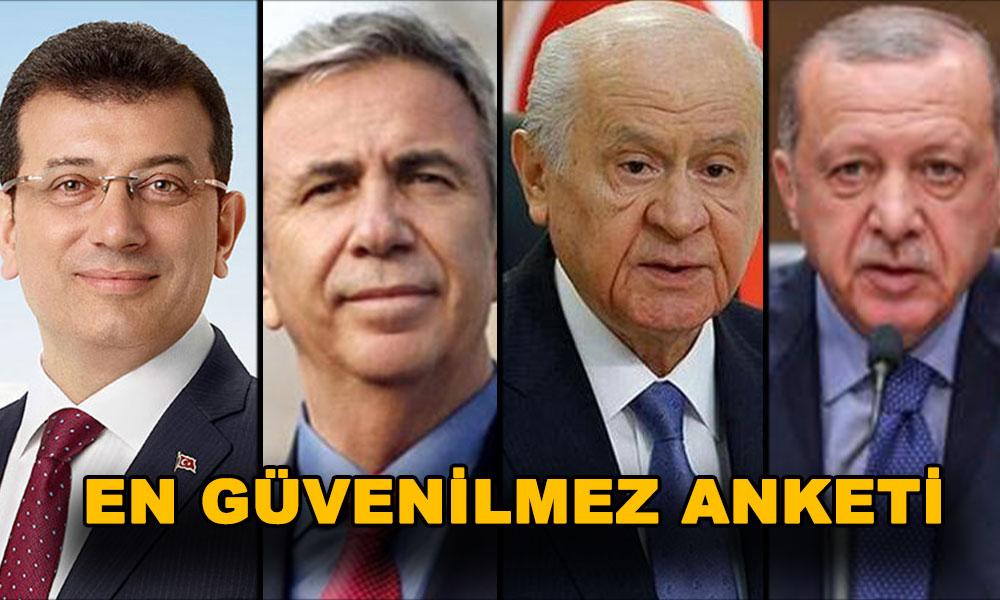 Çarpıcı anket! İmamoğlu ve Yavaş Erdoğan'a fark attı