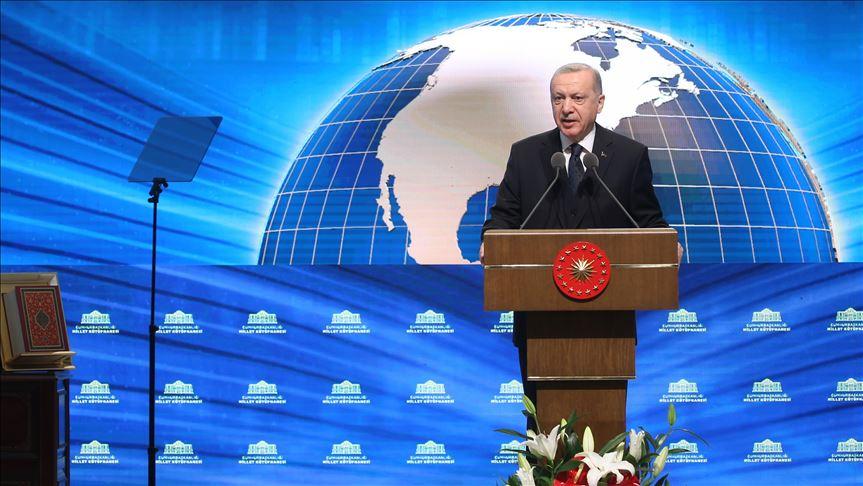 Erdoğan'dan Almanya'daki ırkçı saldırıya ilişkin açıklama