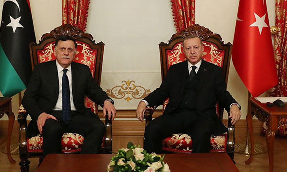 Kritik Libya görüşmesi