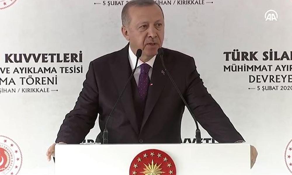 Erdoğan: F-35 tehditlerine cevabı milli savaş uçağımızla vereceğiz