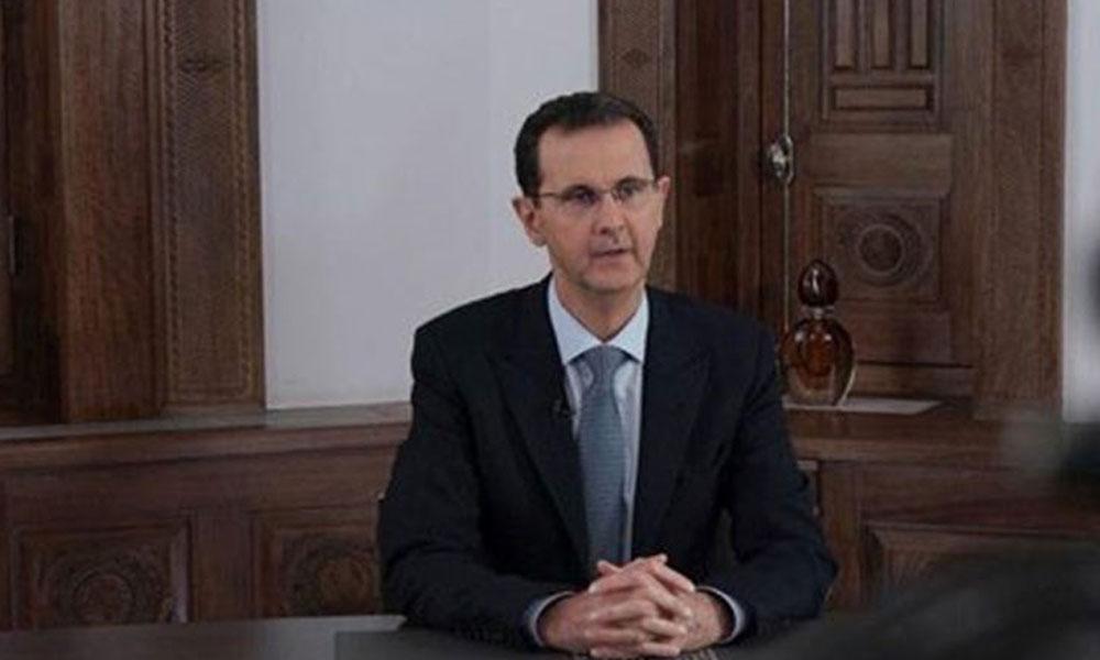 Halep'in geri alınmasının ardından Esad'dan 'zafer' konuşması