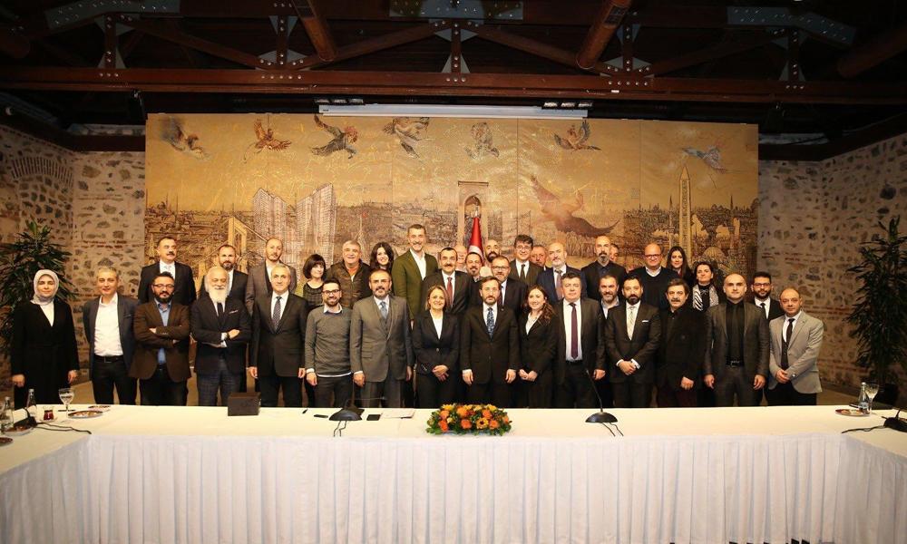 'AKP Genel Başkan Yardımcısı'nın bu toplantıda ne işi var?'