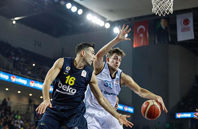 Türkiye Kupası'nda ikinci finalist Fenerbahçe Beko oldu