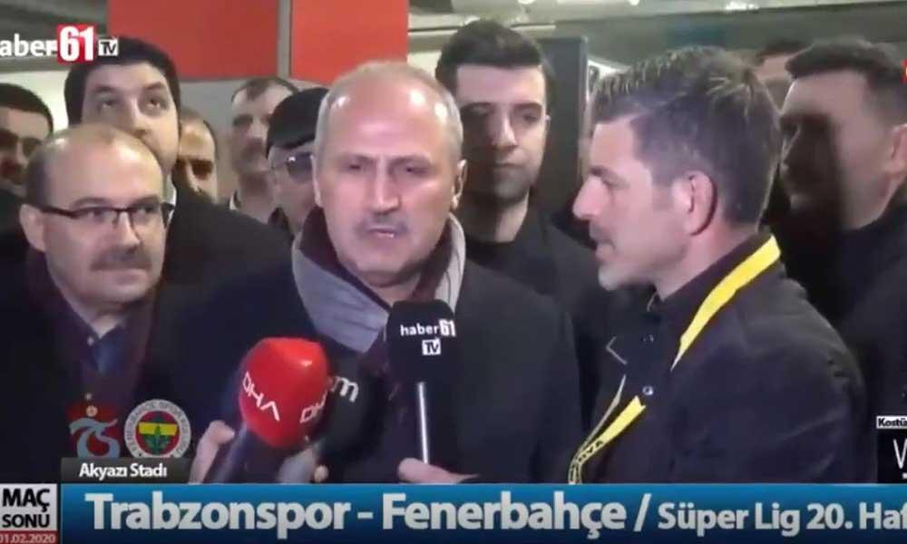 AKP tam kadro futbolun içinde… 'Bu yıl Trabzon şampiyon olacak' diyen Bakan!