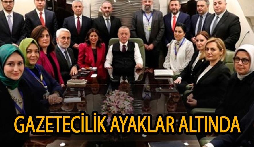 Erdoğan'dan muhalif haberlere ceza isteyen gazeteci
