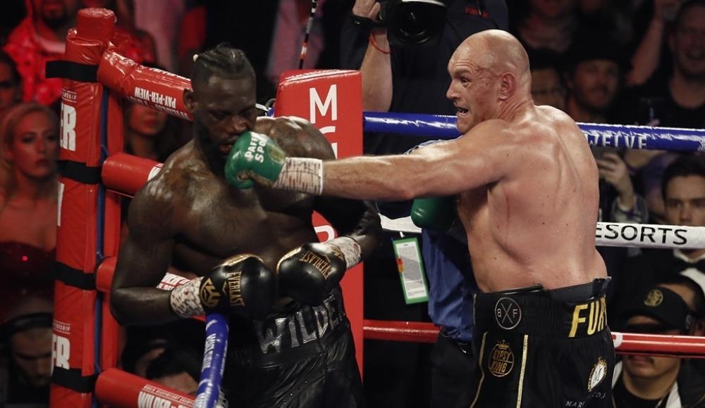 Dünyanın beklediği Tyson Fury-Wilder maçı nefesleri kesti!