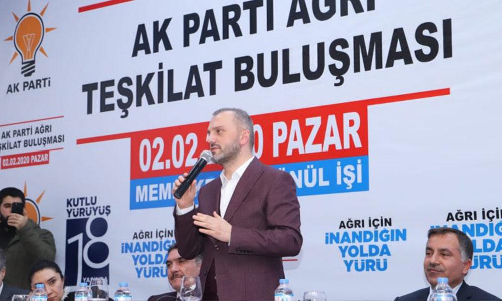 AKP'li Erkan Kandemir'den muhalefet partilerine çirkin sözler: Onlar bu topraklara ait değil