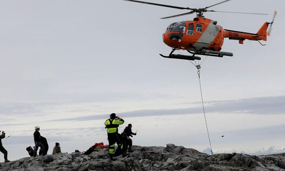 Türkiye'nin GNSS istasyonu Antarktika'ya kuruldu