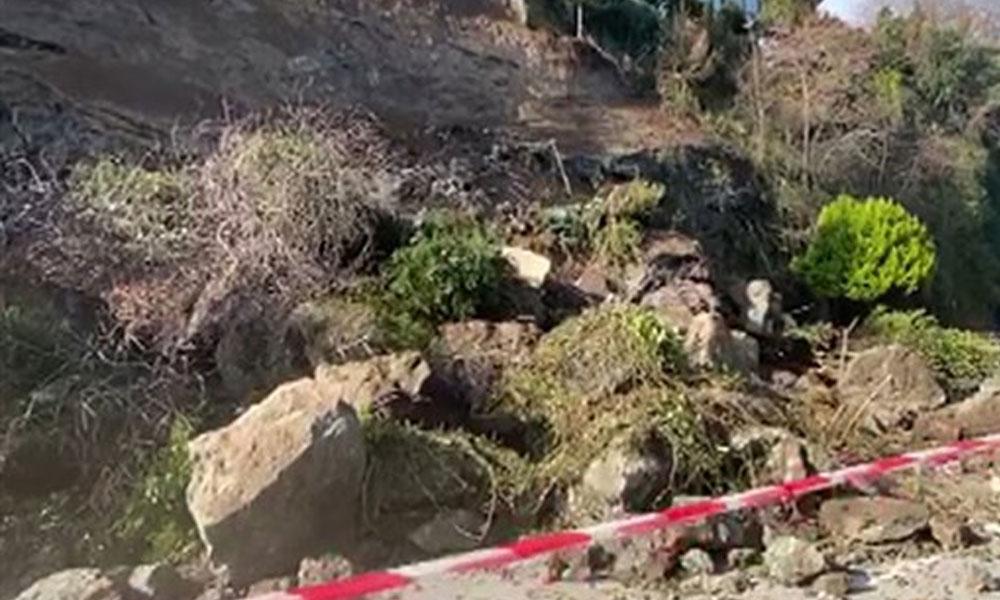 Ordu'da heyelan: Samsun- Ordu karayolu ulaşıma kapandı