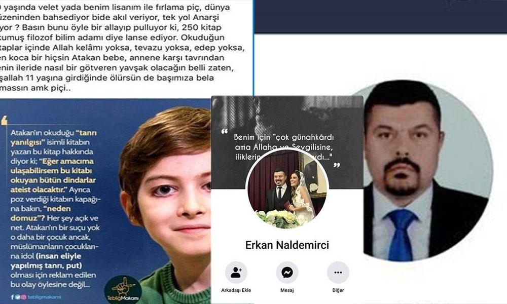 İstanbul Barosu Atakan'ı tecavüzle tehdit eden Erkan Nakdemir için harekete geçti