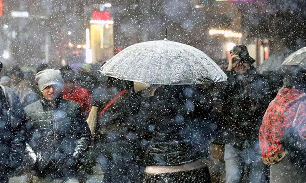 İstanbul'da beklenen kar yağışı başladı… Meteorolojiden uyarı