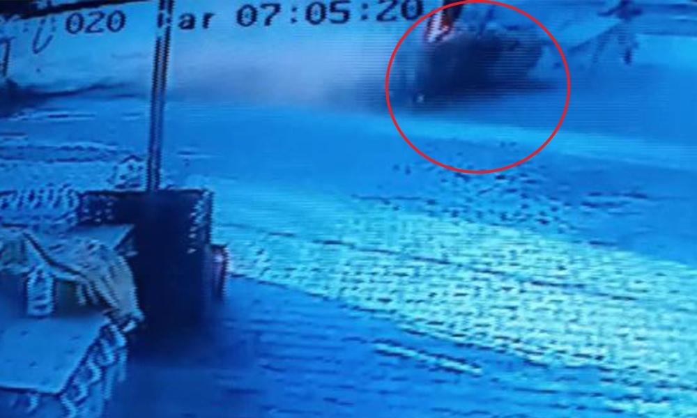 Silivri'de korkunç kaza! Öğrencilere çarptı…