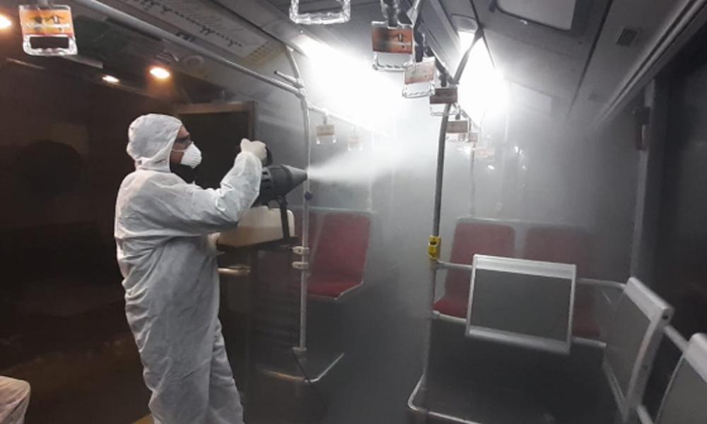 Görüntüler İstanbul'dan… İşte koronavirüs önlemleri