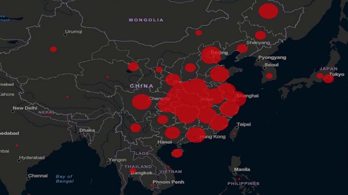 Koronavirüs haritasına Türk imzası