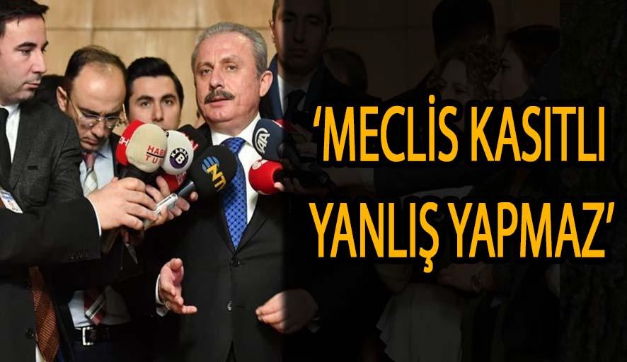 'FETÖ'nün siyasi ayağı tartışmasına Meclis Başkanı da katıldı