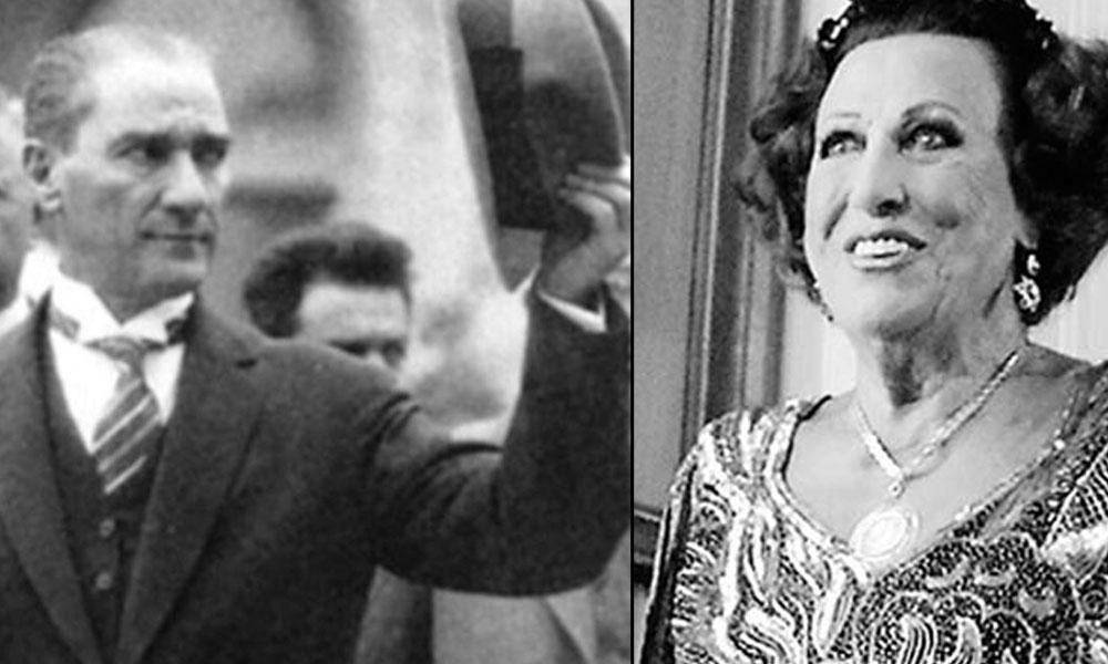 Müzeyyen Senar ilk karşılaşmasını anlatıyor: Atatürk'ü gördüm, dizlerimin bağı çözüldü