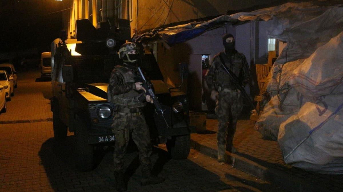 İstanbul'da dev operasyon! 44 gözaltı