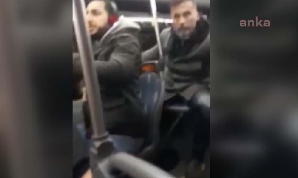 Otobüste öpüşme kavgası… 'Burada kanun var' diyen adama gençlerden yanıt