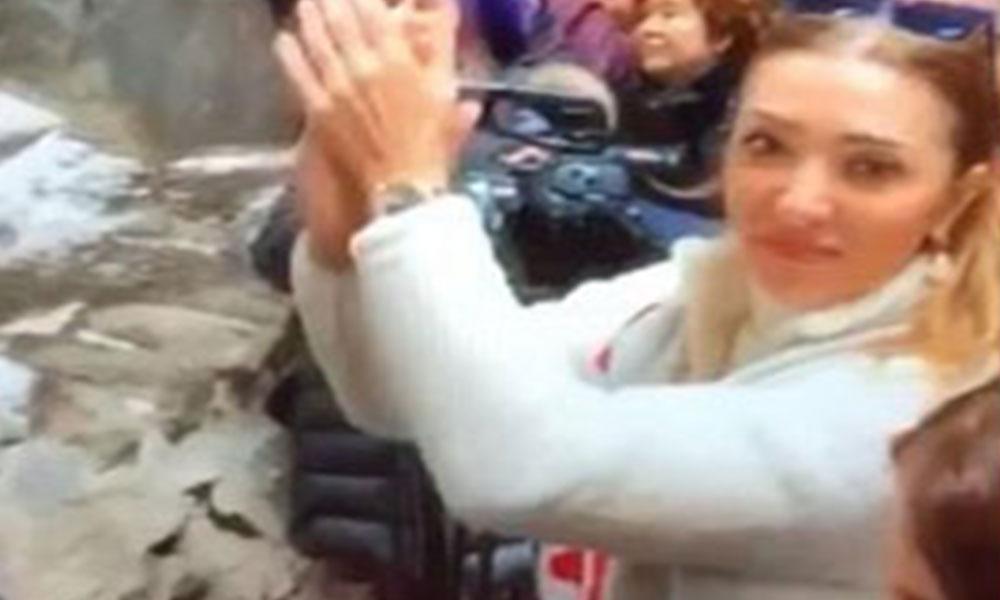 Ülke felaket yaşarken AKP'li bakanın eşi 'Vur patlasın, çal oynasın' eğlenceye gitti