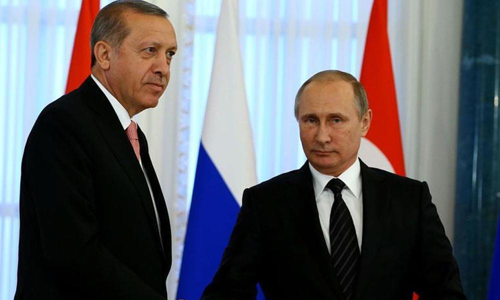 Erdoğan ve Putin arasında Montrö görüşmesi