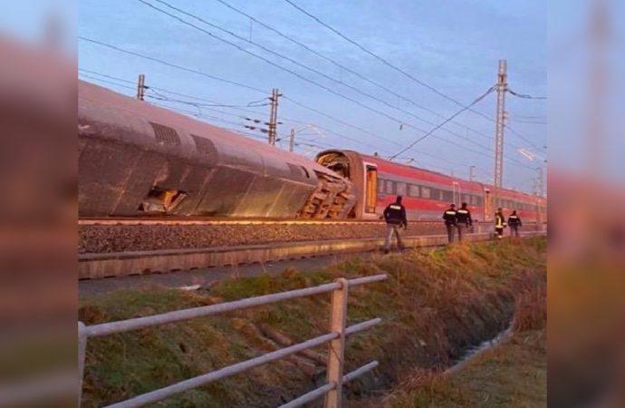 İtalya'da hızlı tren kazası! Ölü ve yaralılar var