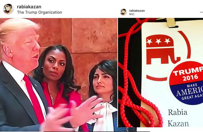 Türbanı attı, Trump'ın yanında yer aldı! Rabia Kazan kimdir?