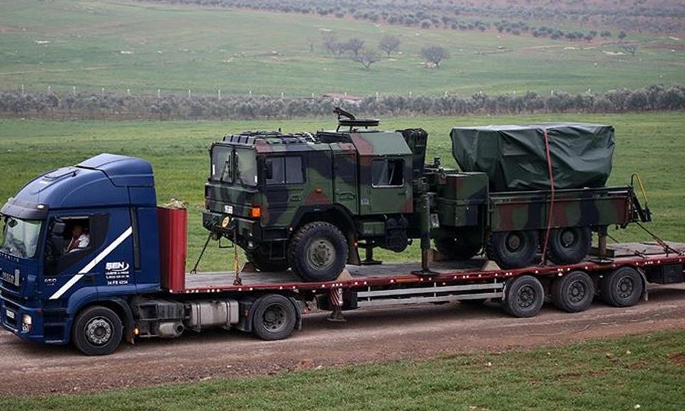 TSK'dan Suriye sınırına zırhlı araç takviyesi