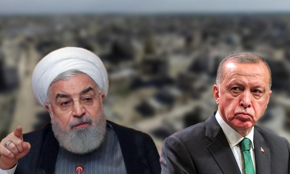 Erdoğan ile görüşen Ruhani'den İdlib çağrısı!