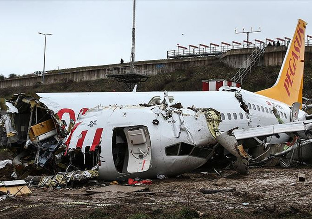 Sabiha Gökçen'deki uçak kazası soruşturmasında kaptan pilotun ifadesi alınıyor