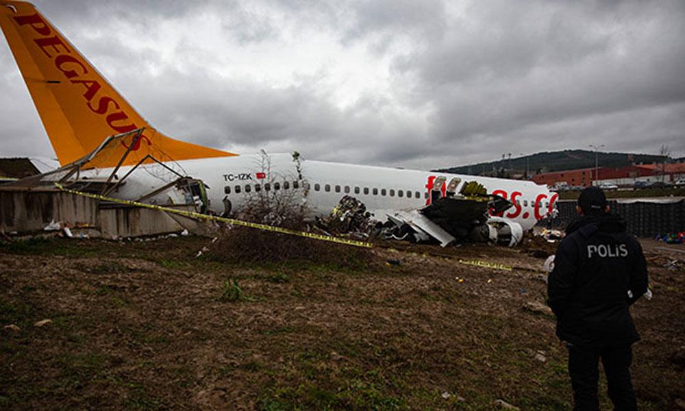 Uçak kazasındaki yardımcı pilotun ifadesi alındı