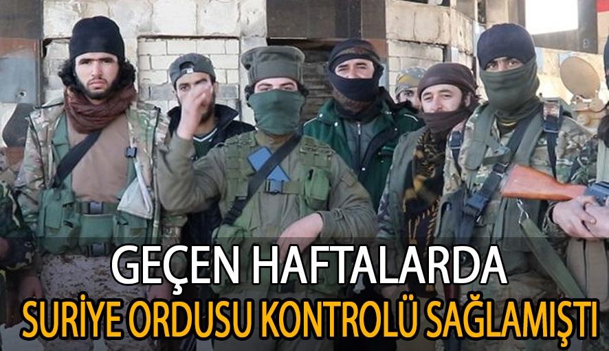 Türkiye destekli cihatçı militanlar Serakib'i ele geçirdi