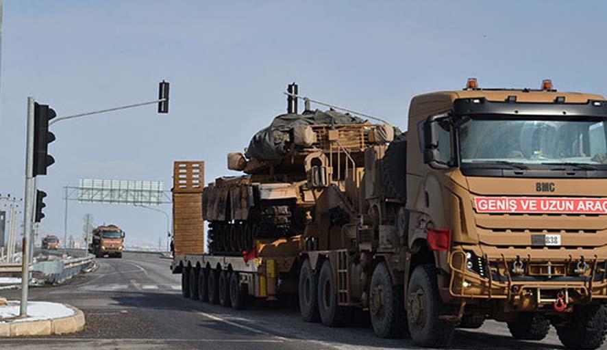 TSK'dan Suriye'ye tank sevkiyatı
