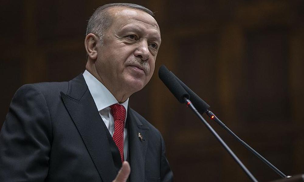 Erdoğan'dan kendi sözlerini tekrarlayan Özkoç'a: Böyle ahlaktan yoksun hakaretleri yapmaya yasalarımız müsaade etmez