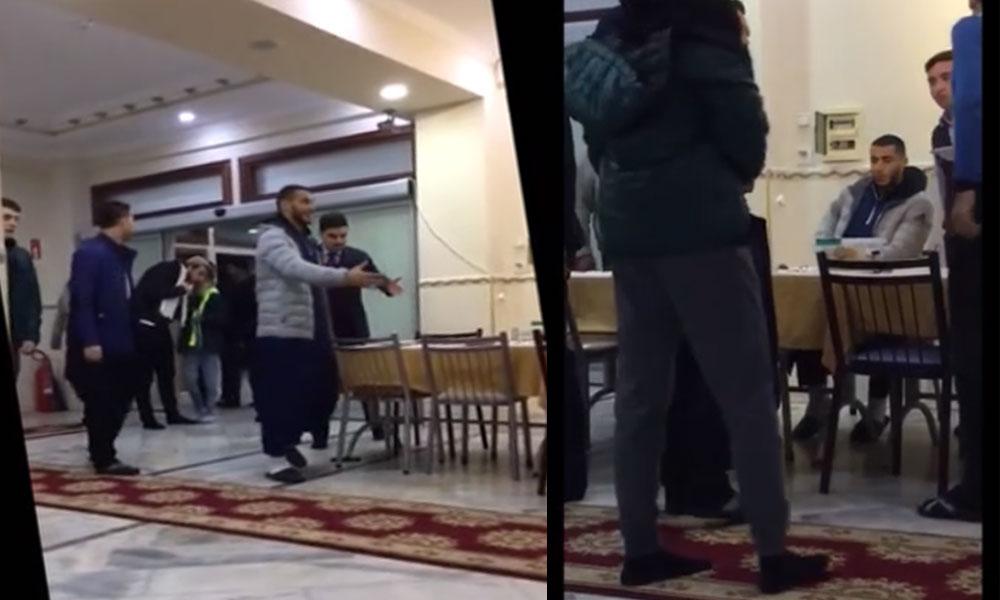 Galatasaray'ın Faslı futbolcusu Belhanda'nın cemaat yurdundaki görüntüleri tartışma yarattı
