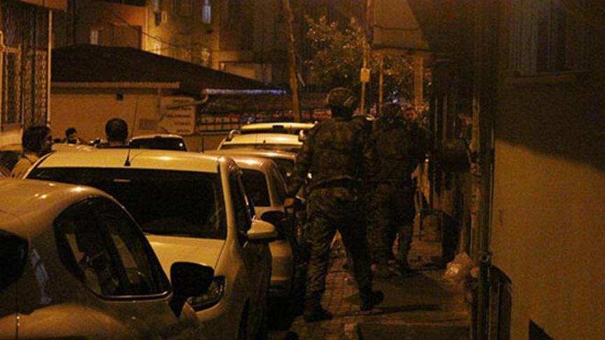 İstanbul'da terör operasyonu! Gözaltılar var