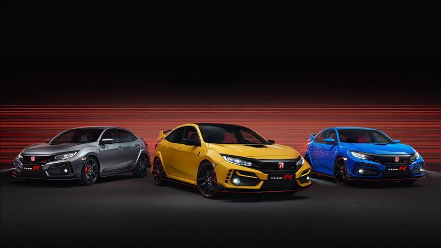 Yeni özellikleriyle sınırlı sayıda Honda Civic Type-R