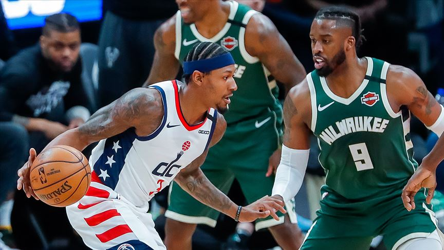 Milwaukee Bucks, Washington Wizards'ı 137-134 yendi