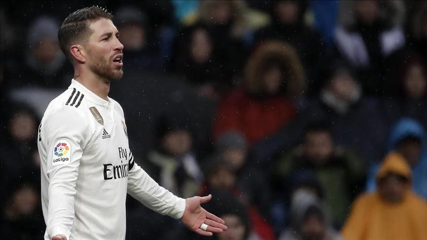 Sergio Ramos'tan kırmızı kart rekoru