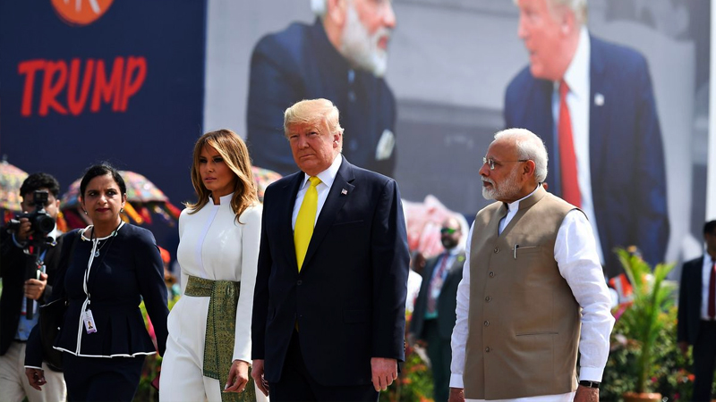 Trump: Hindistan'la 3 milyar dolarlık askeri anlaşma imzalayacağız