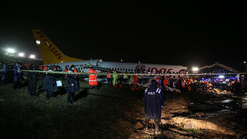 Sabiha Gökçen Havalimanı'nda kaza yapan uçak için ABD'den heyet geliyor