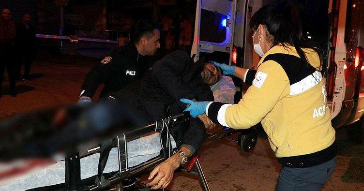 Aynı sokakta bir ay arayla önce bacağından sonra boynundan vuruldu