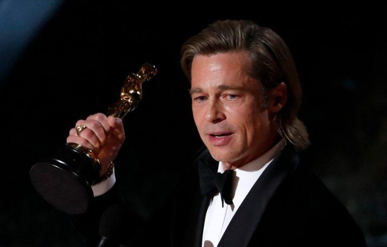 Brad Pitt'ten Trump'a gönderme: 'Konuşmak için 45 saniyem olduğunu söylediler yani…'